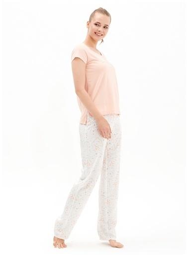 Blackspade Blackspade Pijama Takımı Somon